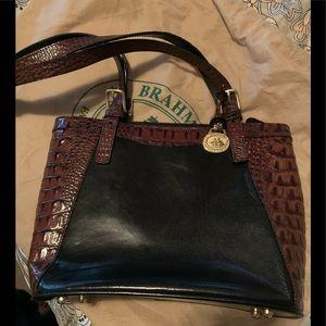 BRAHMIN Bags - BRAHMIN LEATHER SHOULDER PURSE/Bag